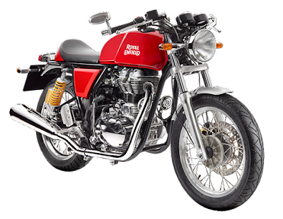 Royal Enfield Continental GT Red colour picture