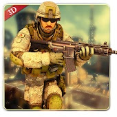 Military Commando Shooter 3D v2.3.2  Mod Apk  Latest Version  Android 2018
