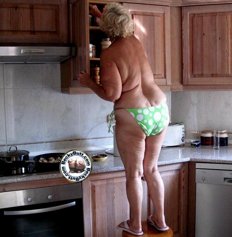 sexy granny tease