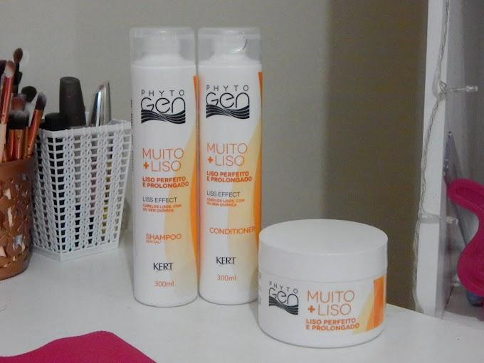 Resenha Linha Muito + Liso PhytoGen - Shampoo, Condicionador e Máscara