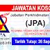 Job Vacancy at Jabatan Perkhidmatan Awam (JPA)