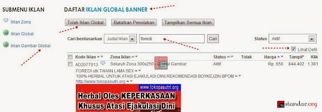 Panduan Blokir / Filter Iklan Dewasa dari KlikSaya.com-4