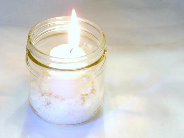 Christmas Votive Candle Holder Craft