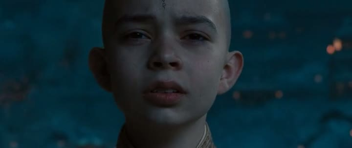 Screen Shot Of The Last Airbender (2010) Dual Audio Movie 300MB small Size PC Movie