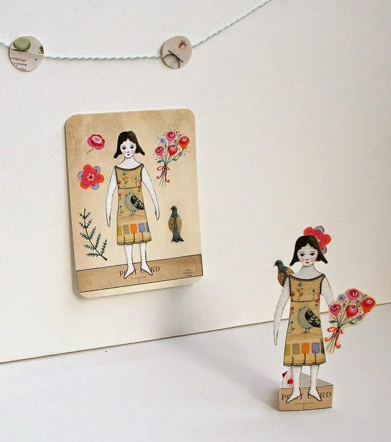 doll made with paper