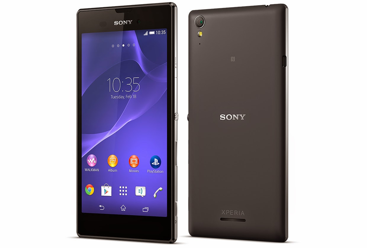 Latest Xperia Mobile from Sony T3 Android Kitkat