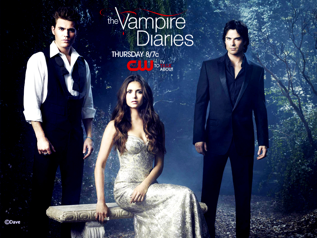 "Wallpaper The Vampire Diaries: Resenhando Séries: Top 5: Os Mais Chatos De ""The Vampire"