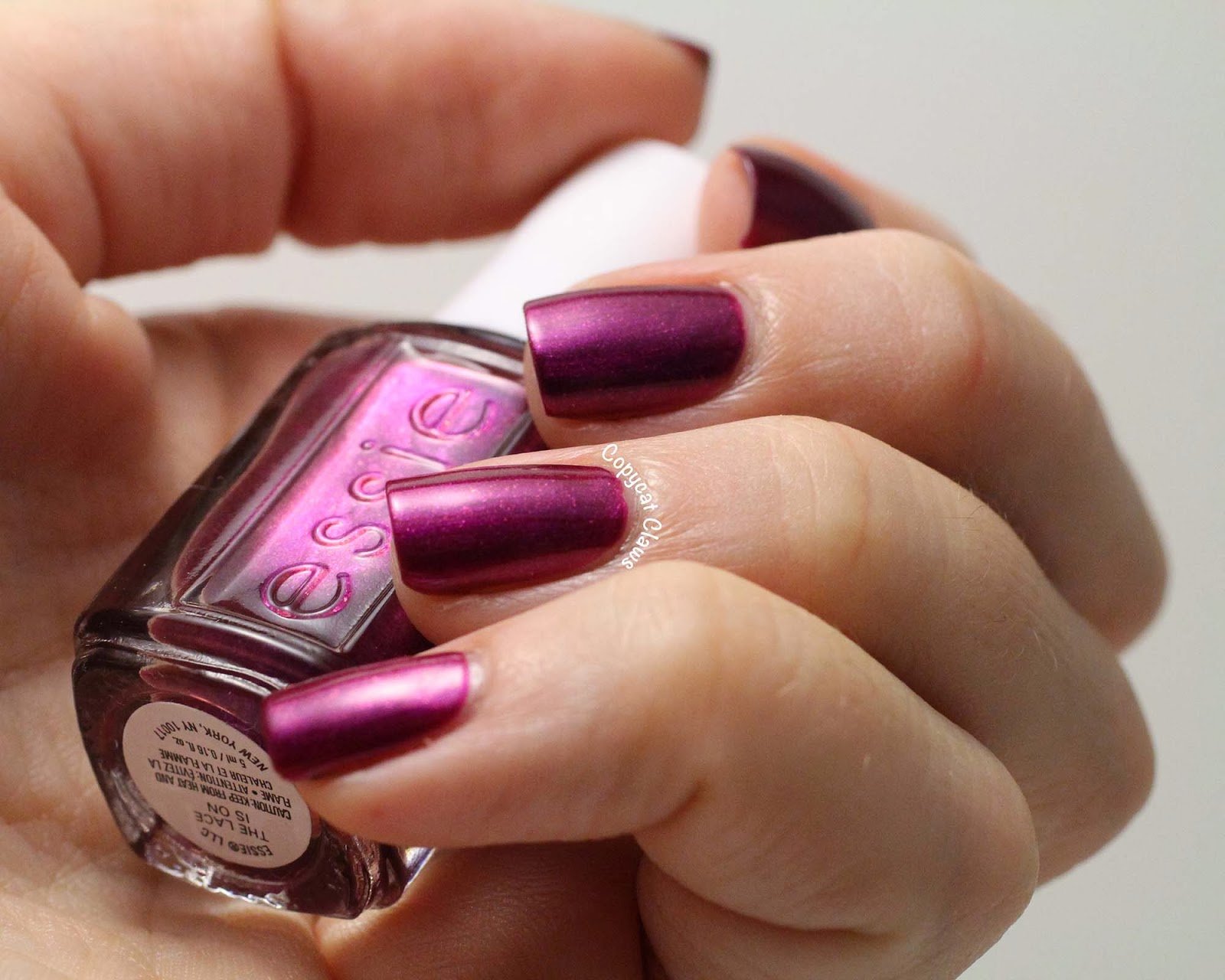 Copycat Claws: Essie The Lace is On