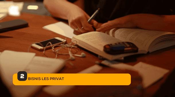 2. Bisnis Les Privat