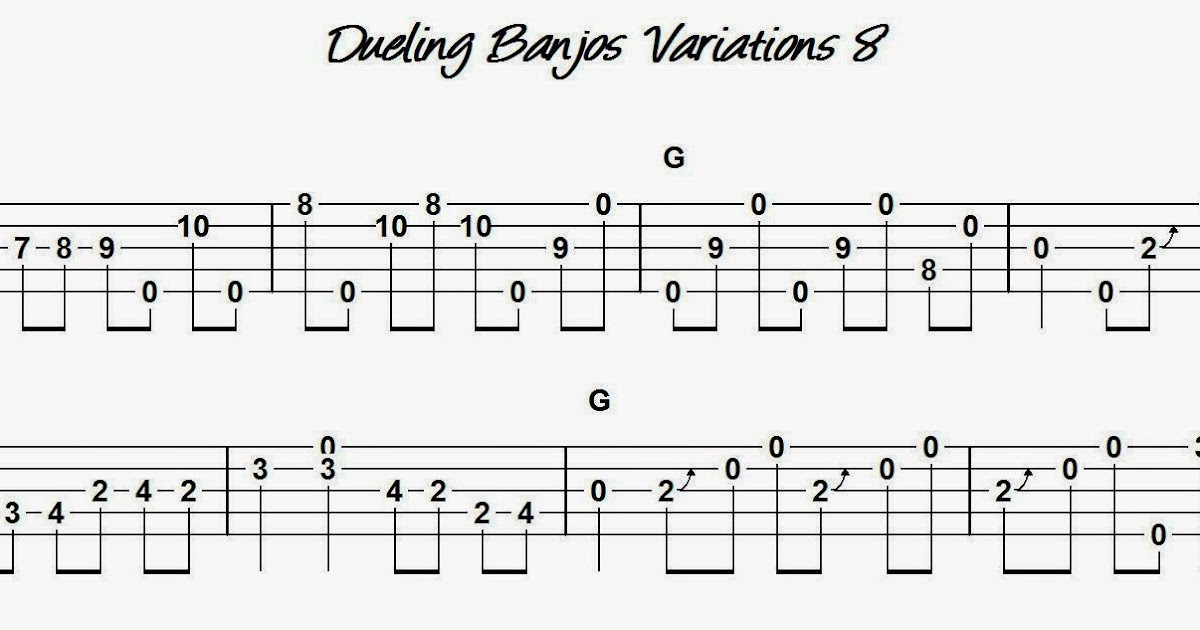 Devon's Banjo Homeplace: Dueling Banjos - Variation 8