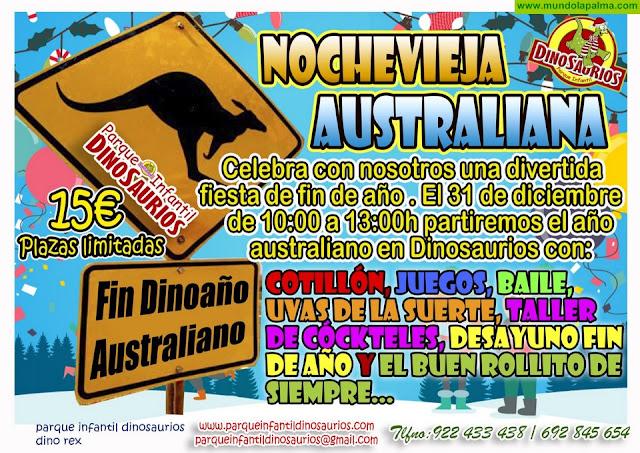 DINOSAURIOS: Noche Vieja Australiana