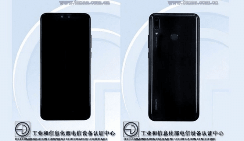 Huawei Y9 (2019) with 6.5-inch screen appeared on TENAA