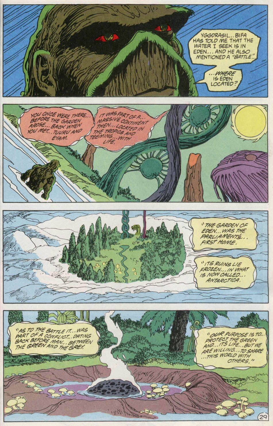Swamp Thing (1982) Issue #100 #108 - English 28
