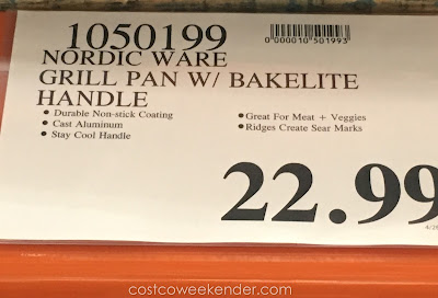 Deal for the Nordic Ware 11-inch Nonstick Grill Pan at Costco