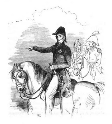 The Duke of Wellington from The Life of Field-Marshal His Grace the Duke of Wellington by WH Maxwell (1852)