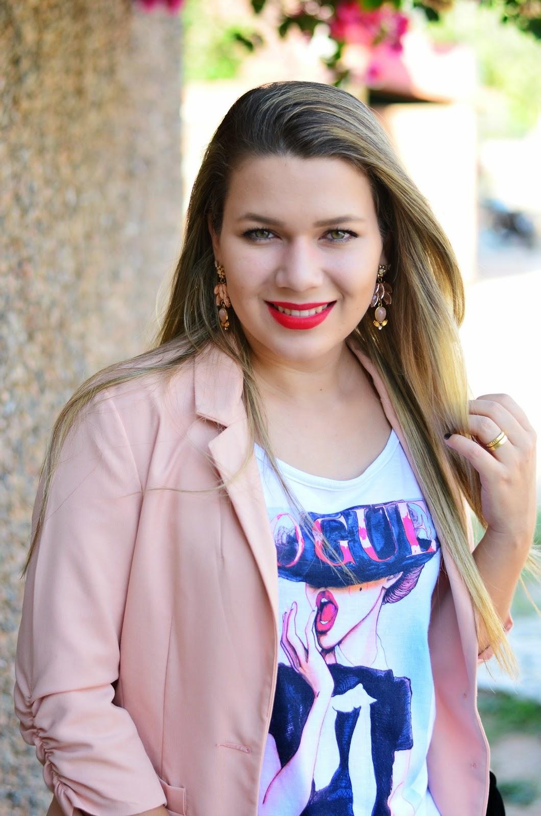 Pink Woman Fashion Arquivo Look Do Dia Melissa Ultragirl La O Rosa Perolado
