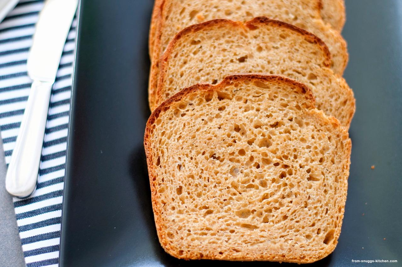 No Knead Malzbier Brot