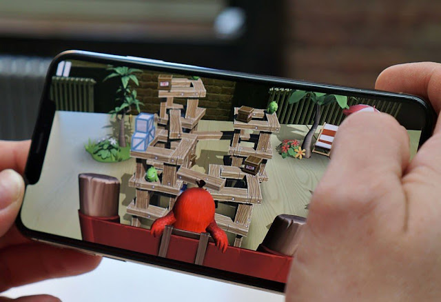 Angry Birds augmented reality game