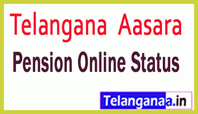 TS Aasara Pension Online Status Web Site Details Aasara Pension