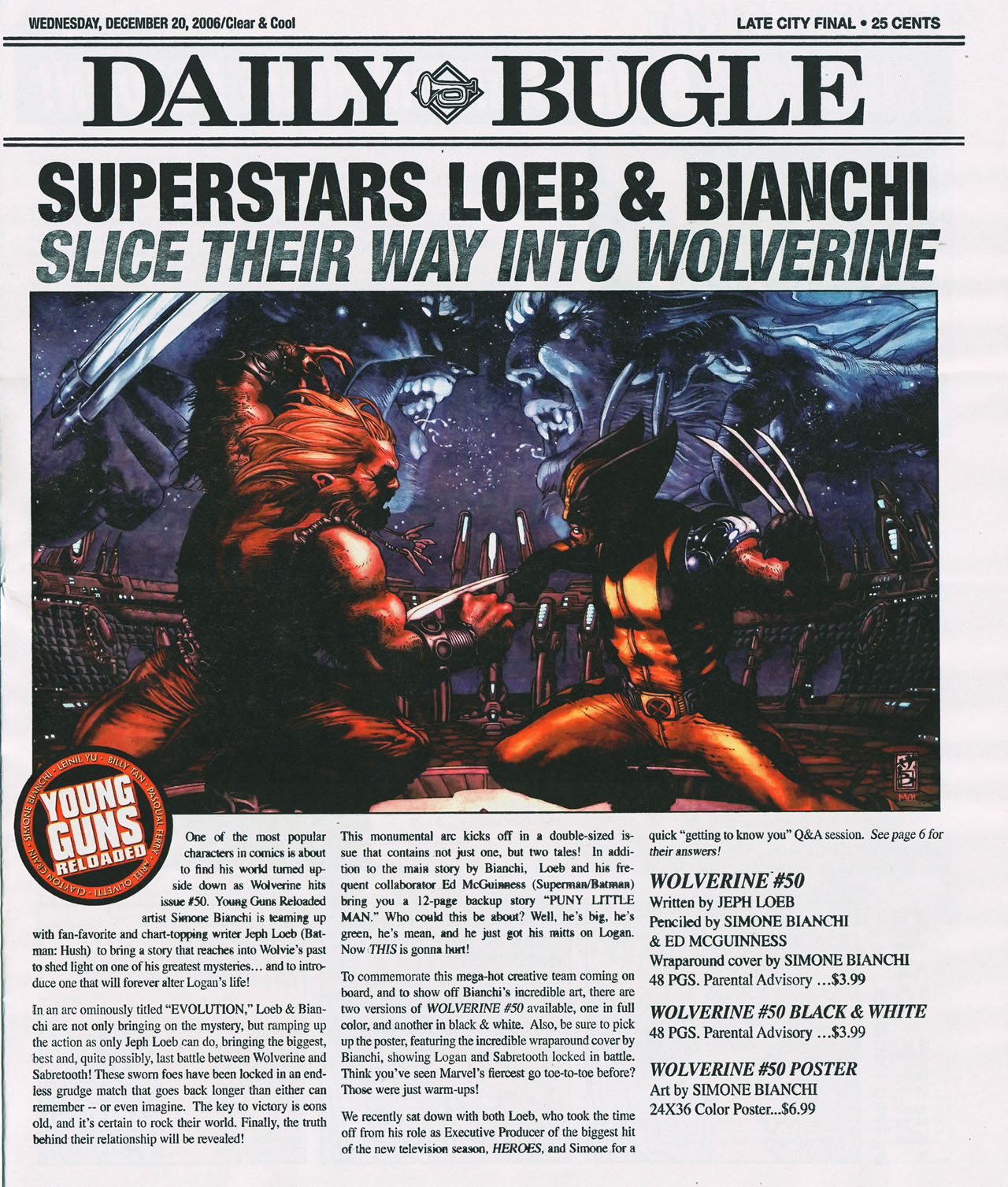Read online Daily Bugle (2006) comic -  Issue #4 - 2