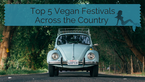 Top Vegan Festivals Across the Country blog title