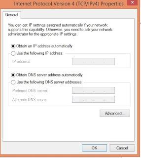 Mengatasi No Internet Access Pada Wifi Laptop