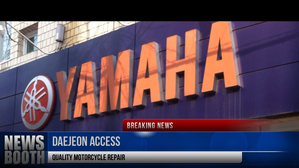 Daejeon Access: Yamaha Motorcycle Repair Shop