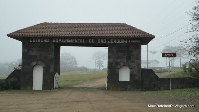 Estação Experimental da Epagri em São Joaquim