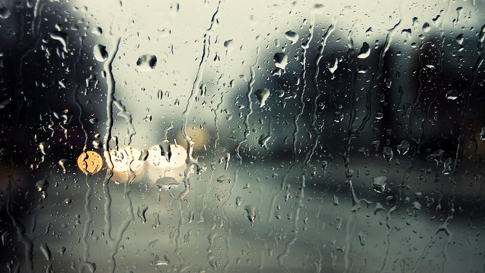 Desktop wallpaper rain drops on window desktop wallpaper - Rainy window wallpaper ...