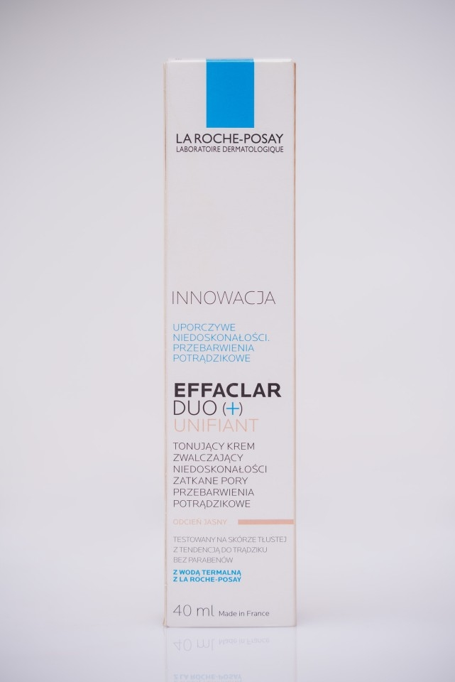 krem BB do cery trądzikowej | najlepszy krem BB dla skóry z trądzikiem | jaki krem BB na trądzik | Effaclar Duo Plus Unifiant | Effaclar Duo Plus Unifiant recenzja | Effaclar Duo czy warto | Effaclar Duo Plus Unifiant odcień