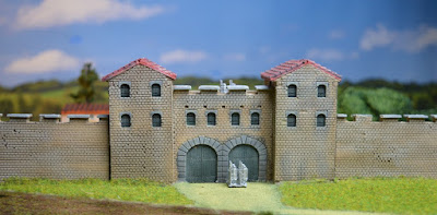 Gatehouse 1:144 (10 - 12mm) (Code: nj-144-rom1) 1