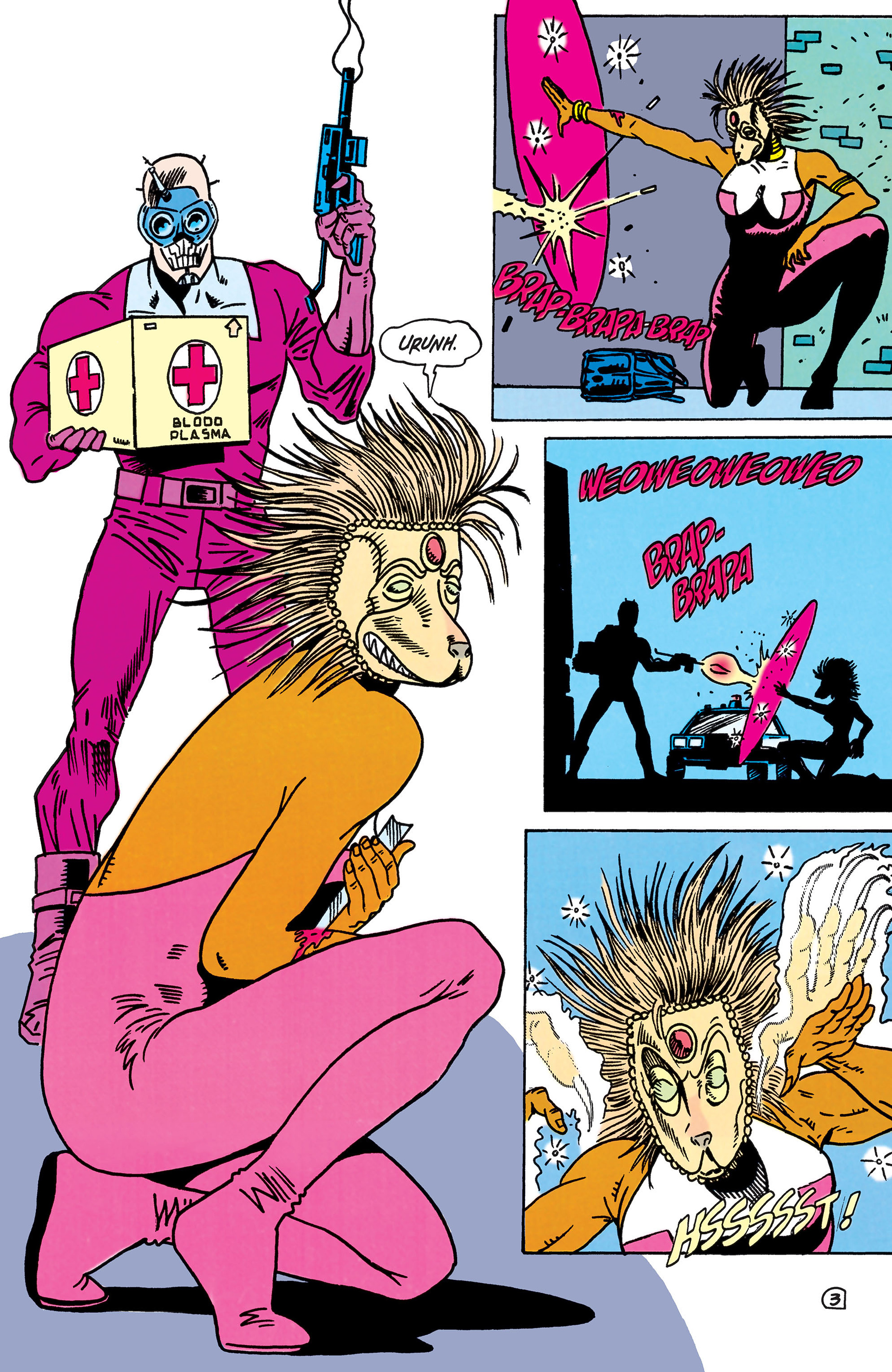 Read online Animal Man (1988) comic -  Issue #44 - 4