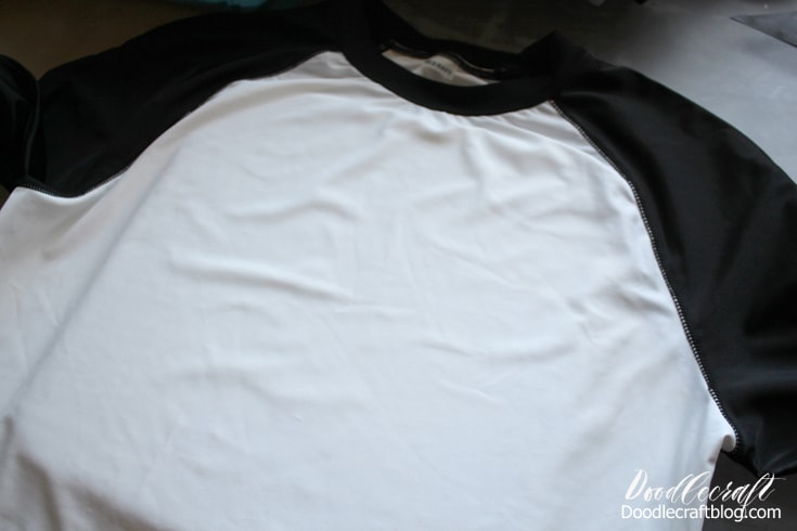 Old Navy rashguard surf shirt is white and black and needs customization.