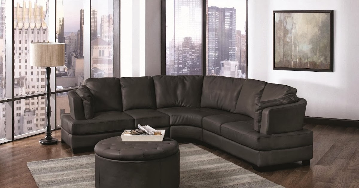 Buy Curved Sofa Online Curved Leather Sectional Sofa