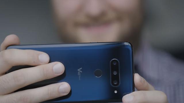 سعر و مواصفات هاتف LG V40 ThinQ