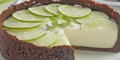 Receita de Torta de limão com chocolate
