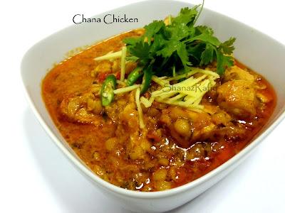 Chana Chicken | Chicken & Chickpea Curry