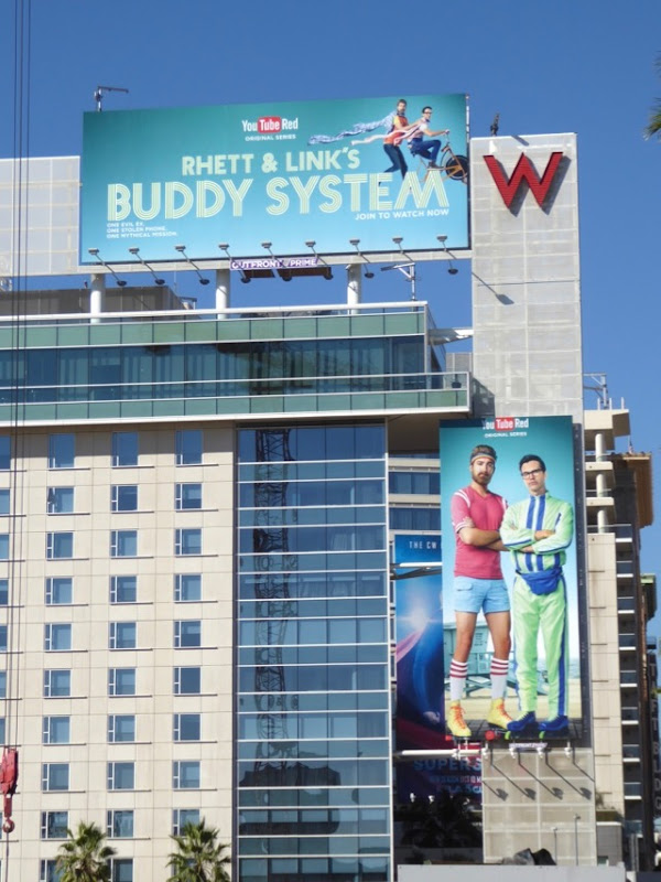 Rhett Links Buddy System series billboards
