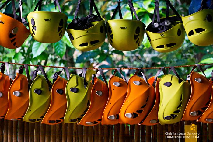 El Nido Canopy Walk Protective Gear