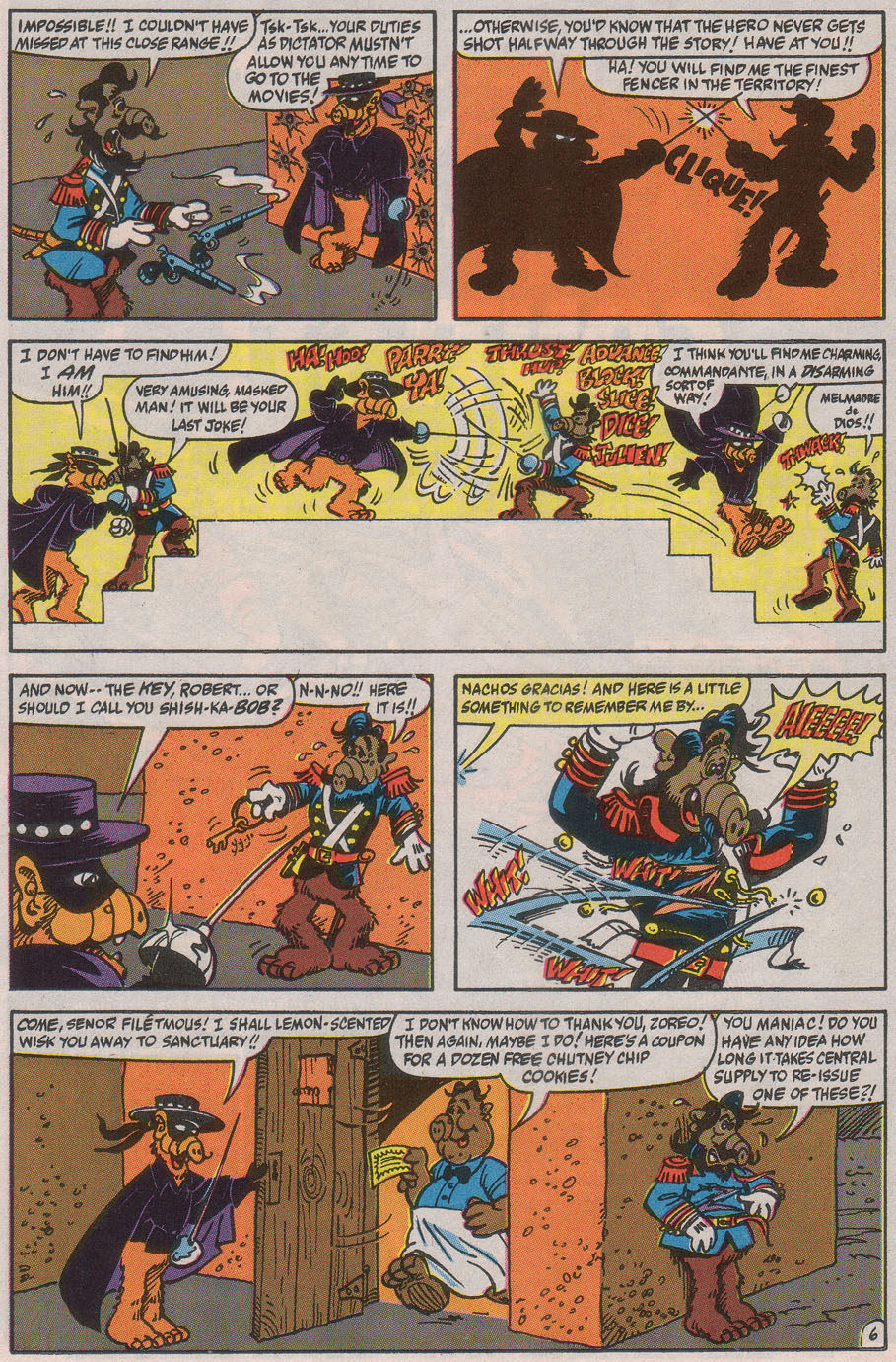 Read online ALF comic -  Issue #40 - 26
