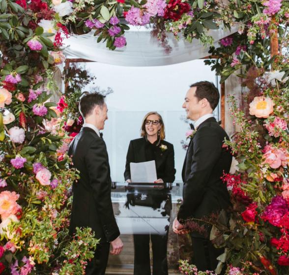 Jim Parsons Wedding: Photos From Big Bang Theory's Jim Parsons' Wedding To Long