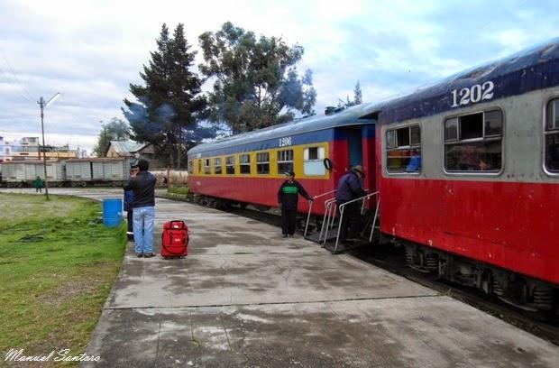 Huancayo, stazione di Chilca