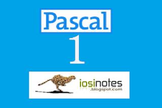 Struktur Pemrograman Pascal | iosinotes.blogspot.com