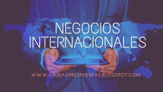 NEGOCIOS INTERNACIONALES:CONCEPTOS BASICOS DE ECONOMIA