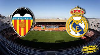 Реал Мадрид – Валенсия прямая трансляция онлайн 01/12 в 22:45 по МСК