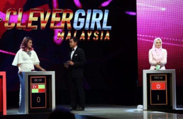 Fatin Nuraisya Juara Clever Girl Malaysia