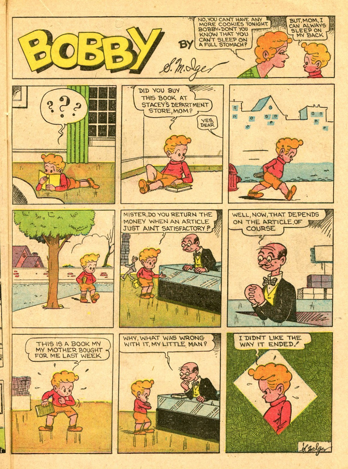 Read online Famous Funnies comic -  Issue #33 - 47