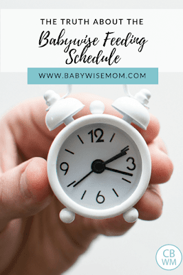 Combating Babywise Myths: Go 3 hours between feedings no matter what. What does On Becoming Babywise say about feeding intervals? Can you feed baby early if baby is hungry?