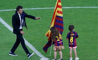 Pelatih Barcelona Luis Enrique
