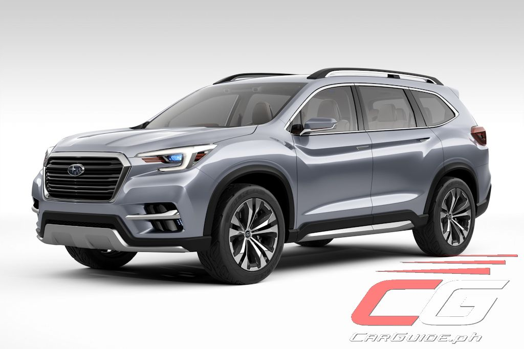 Subaru Ascent SUV Concept Signals Brand s Re Entry in the SUV